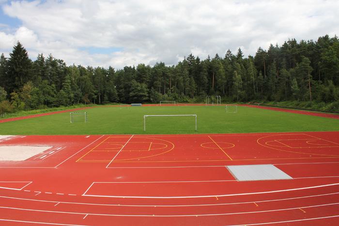 Bild vom Sportplatz